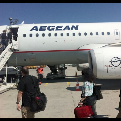 Aegan A320 Munich Airport