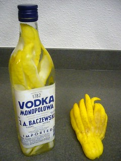 Buddha's Hand Infused Vodka | by phrenologist
