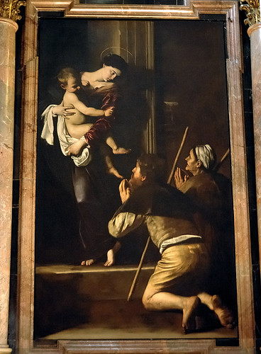Madonna di loreto caravaggio in s agostino flickr for Caravaggio a milano