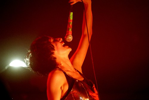 Yeah, yeah, yeahs (Karen O) at United Sounds of ATP | by neate photos