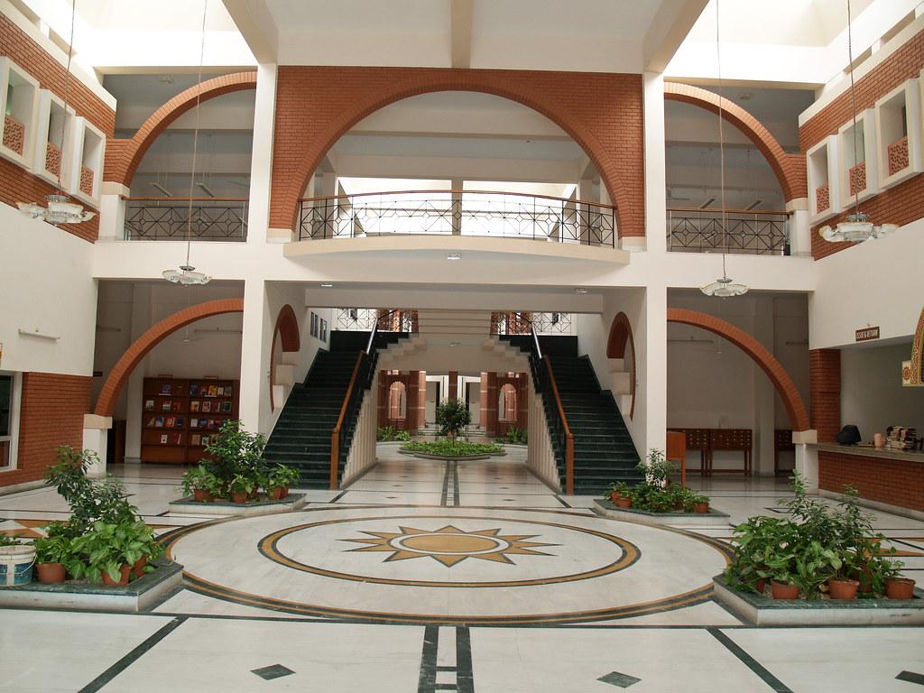 Palatial Interior Design BITS Pilani Library