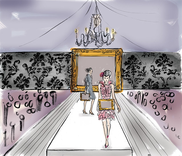 Fashion Show Drawings Fashion Show Concept
