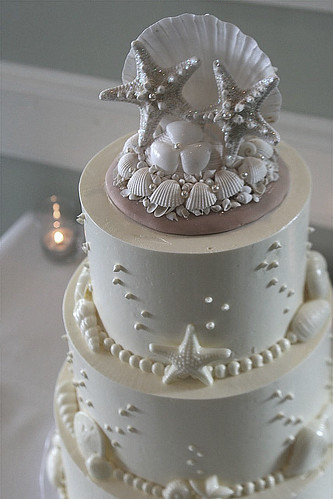 sea shell wedding cakes seashell wedding cake flickr photo 19712
