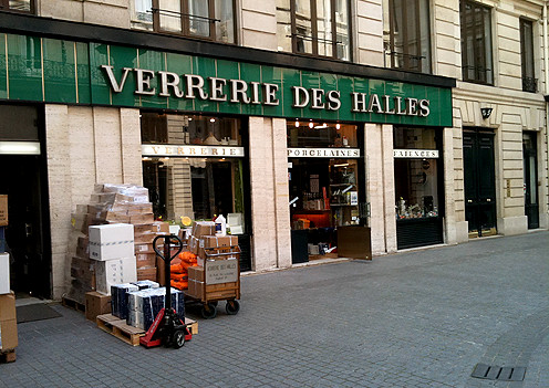 verrerie des halles cookware shops in paris david. Black Bedroom Furniture Sets. Home Design Ideas