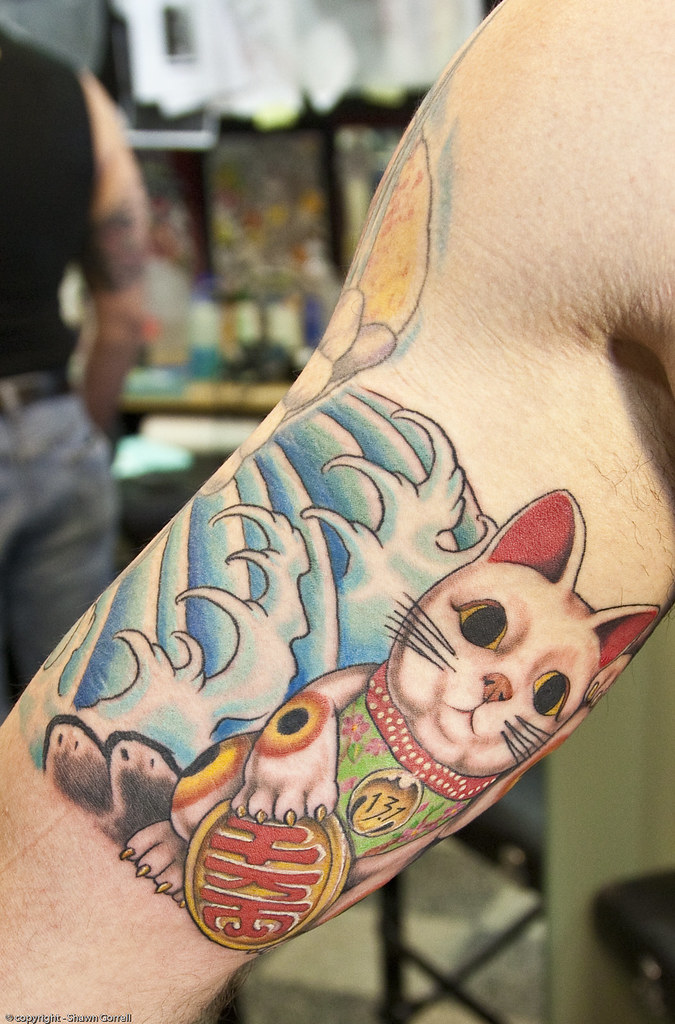 Img 5209 cheesewz flickr for White cat tattoo floresta