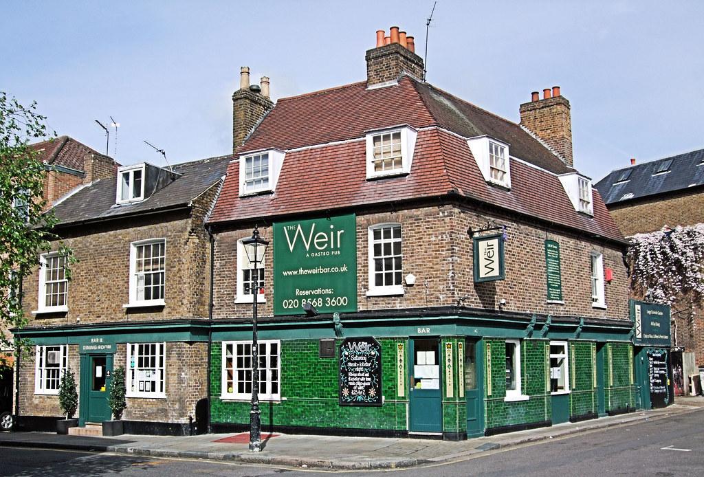 The Weir Pub Brentford London From Www Theweirbar Co