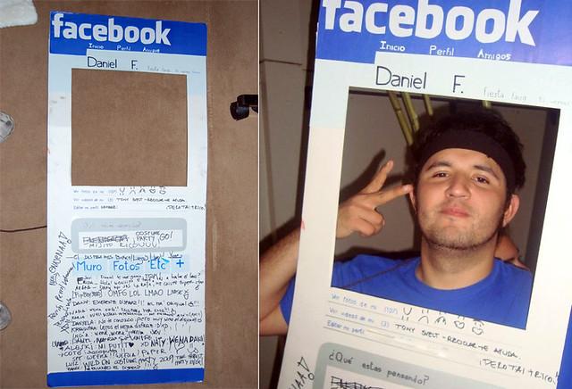 Facebook checo disfraz