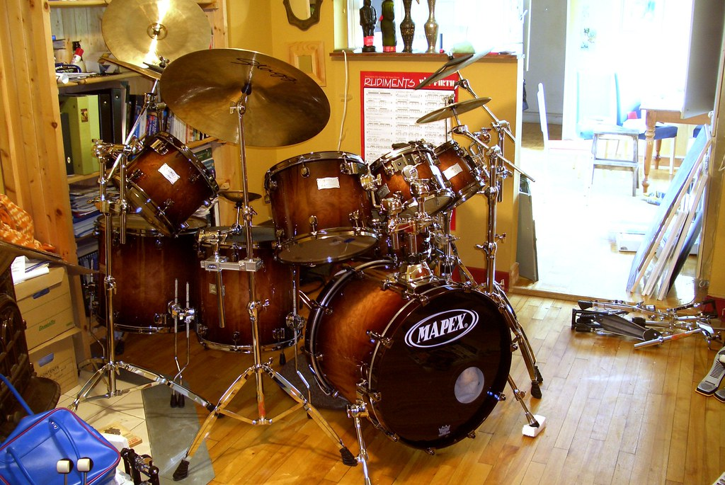 Mapex Orion 8 Piece Drum Set Batterie Mega Drums Deal