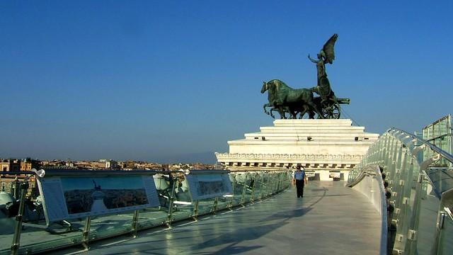 Roma Terrazza Delle Quadrighe 4 Gioconda Ghiggi Flickr