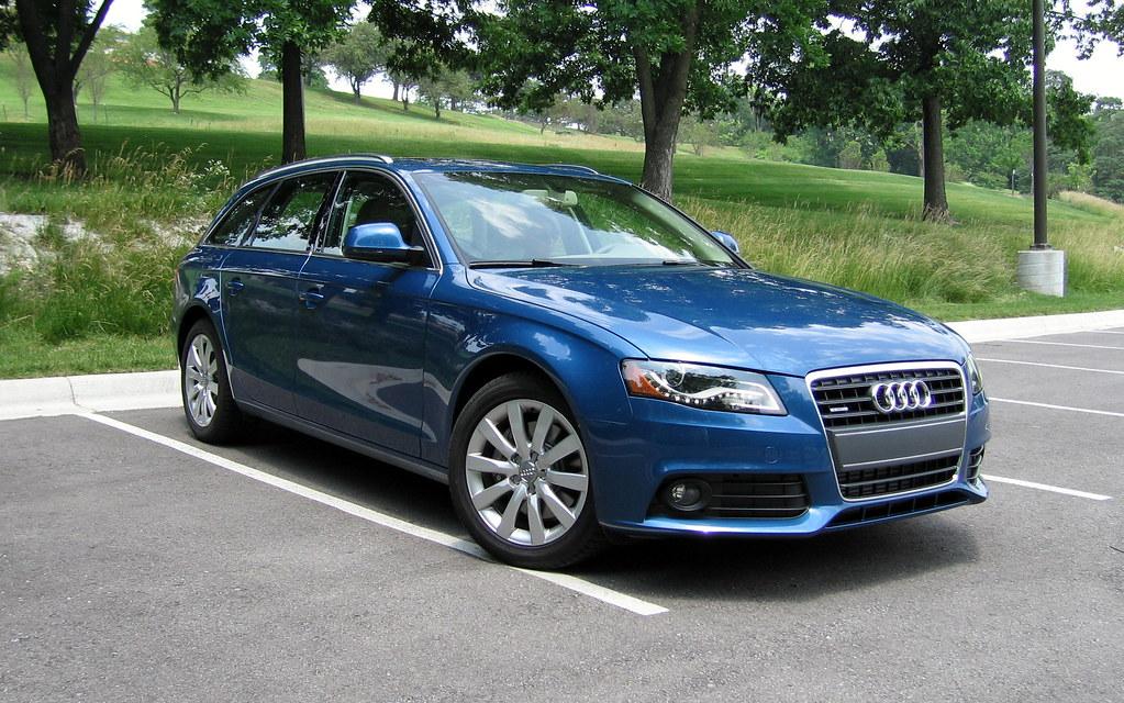 Audi a4 2009 Blue Audi a4 Avant 2009