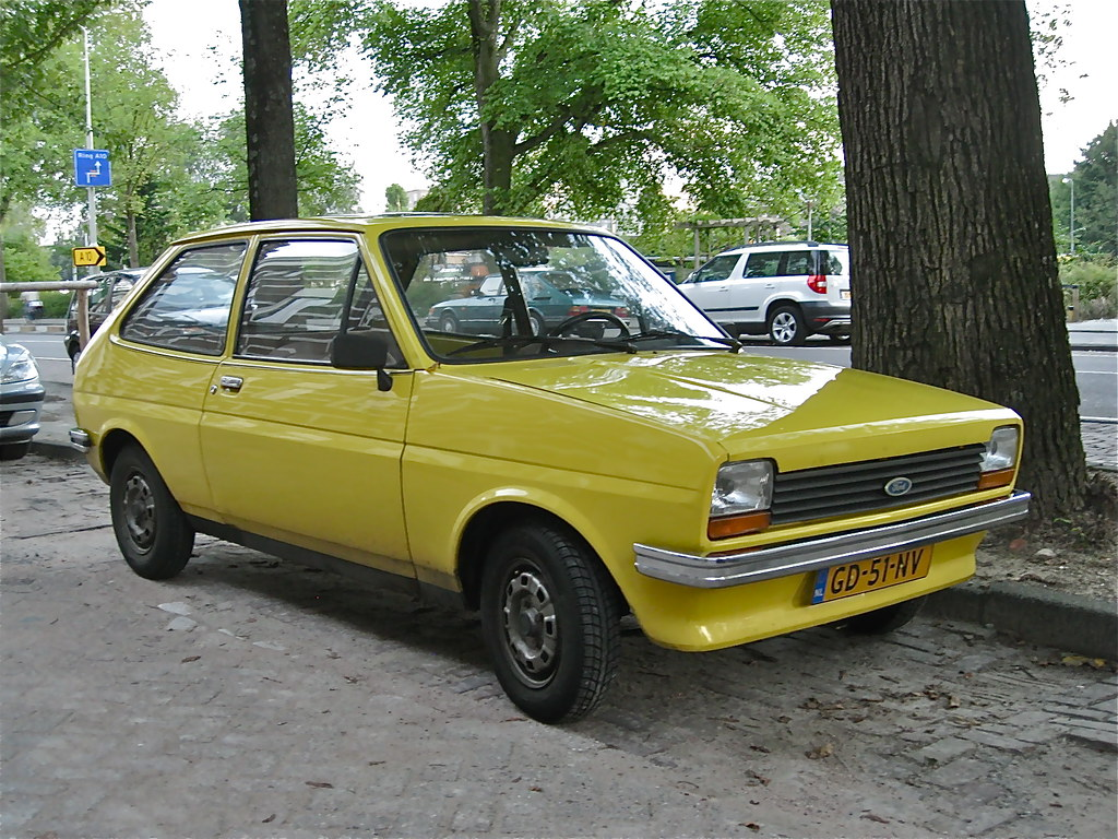 1980 ford fiesta 1 1l mk1 1117cc 720 kgs produced from 1 flickr. Black Bedroom Furniture Sets. Home Design Ideas