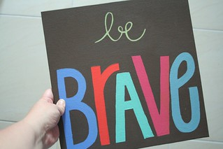 be brave | by *Karen M Andersen* (Ruby and Violet)