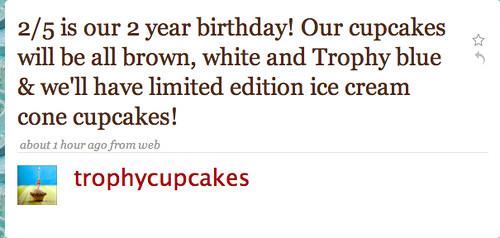 Trophy Cupcakes Birthday Cake