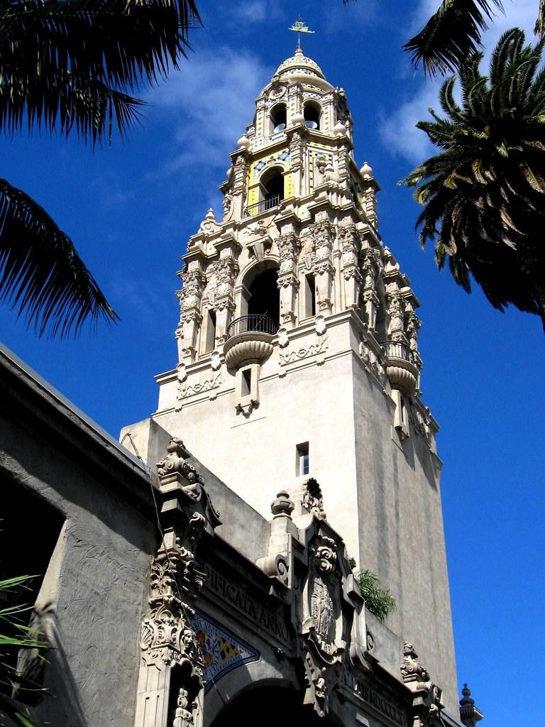 California Tower, Balboa Park, San Diego, Museum of Man  Flickr
