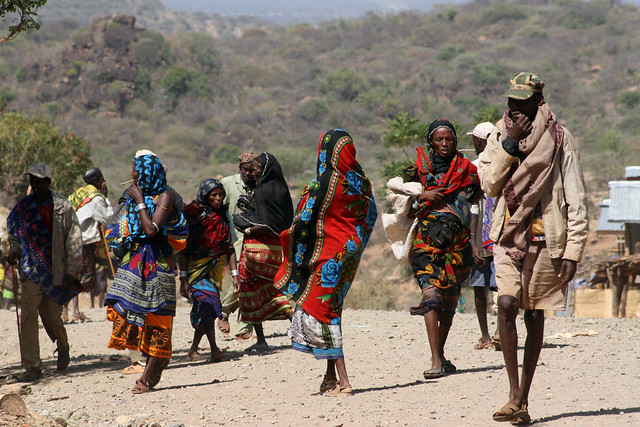 Oromo people comprise 34 percent of the Ethiopian population.