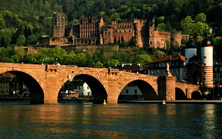 Castle and the Old Bridge, Heidelberg, Germany | by AbhijeetRane