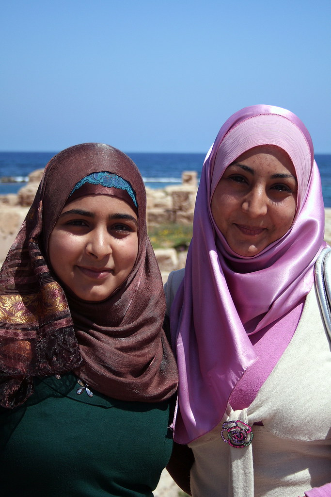 Pretty Young Women of Libya | All women in Libya wear the ... Libyan Women