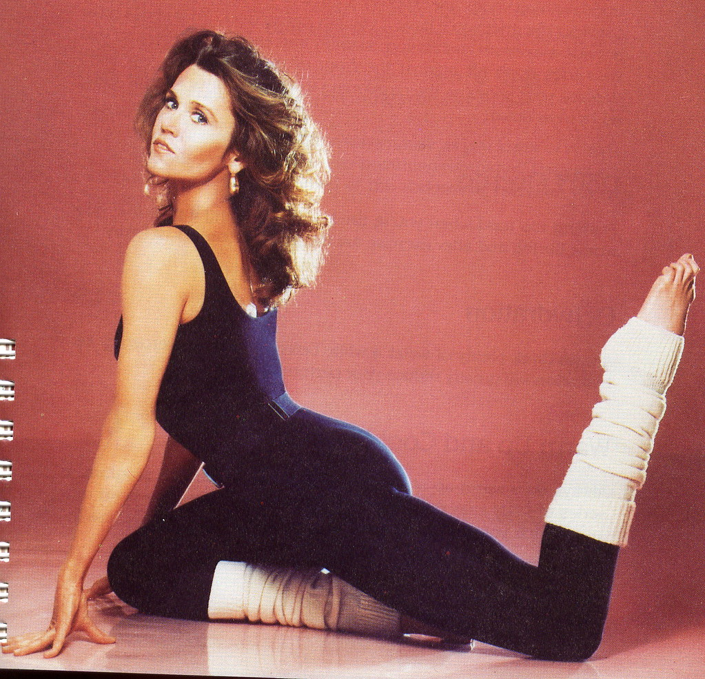 Jane Fonda workout photo | Flickr - Photo Sharing!: https://www.flickr.com/photos/janefondaworkouts/4612739565