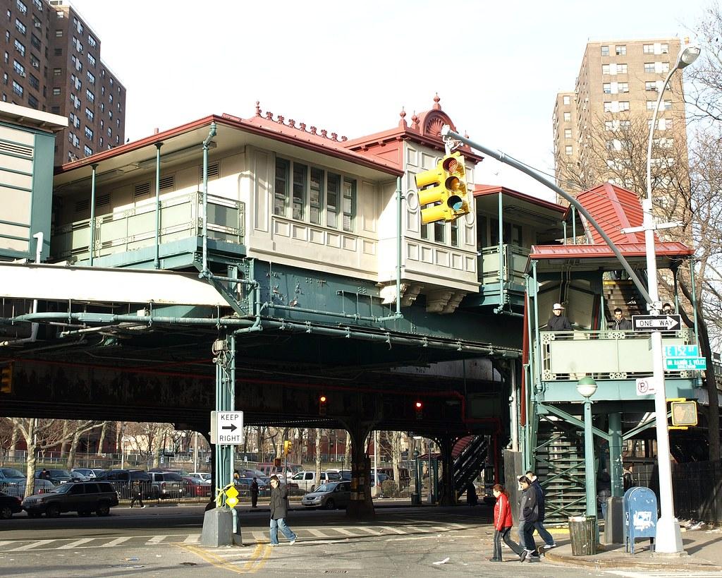 Jackson Avenue Subway Station Mott Haven Bronx New York