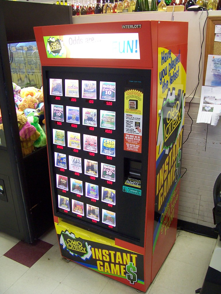 how to use a lottery machine