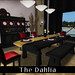 The Dahlia Dining Room in Ebony