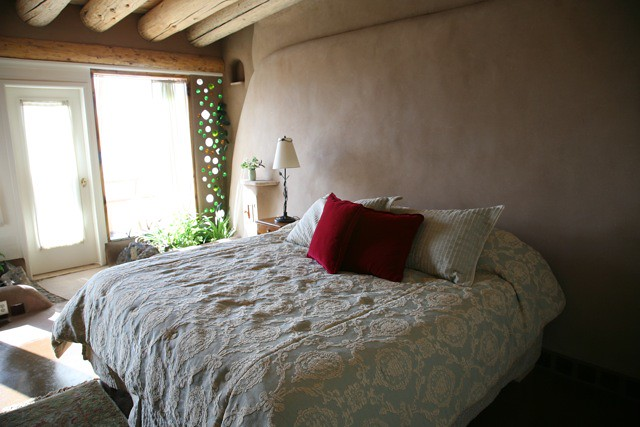 Corner Cottage Earthship Master Bedroom Earthship