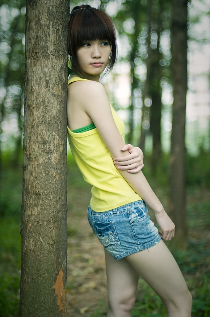 Chinese Cute Girl  Xuan Zheng  Flickr-8903