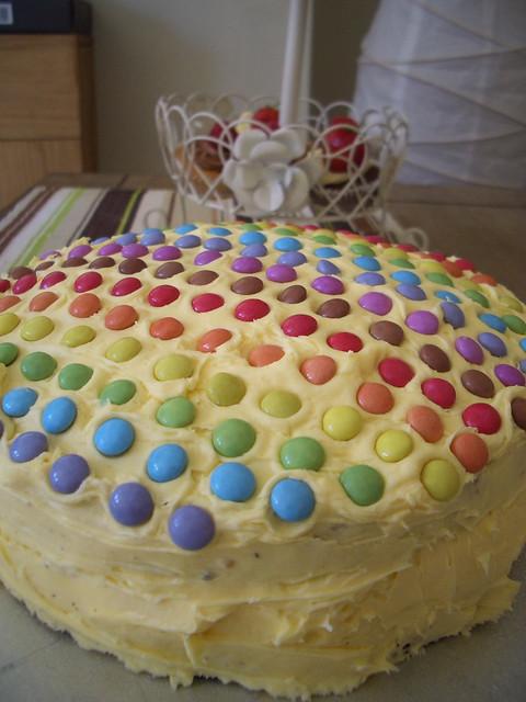 Cake Bake Smarties Cokies