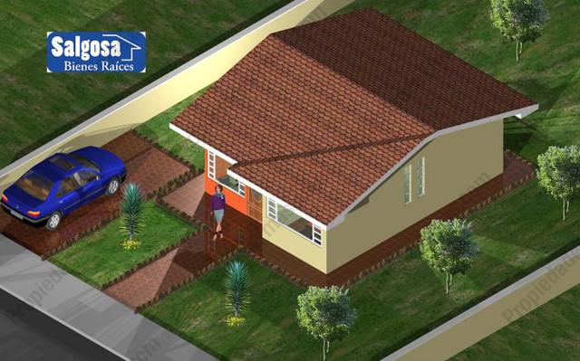 Modelo de casa de campo 1 piso vista arriba ideas de for Modelos de casas de campo de una planta
