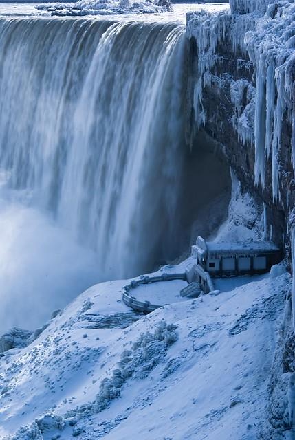 Right In Niagara: Niagara Falls Ice Bridge, 2009 |Niagara Falls Frozen 2009