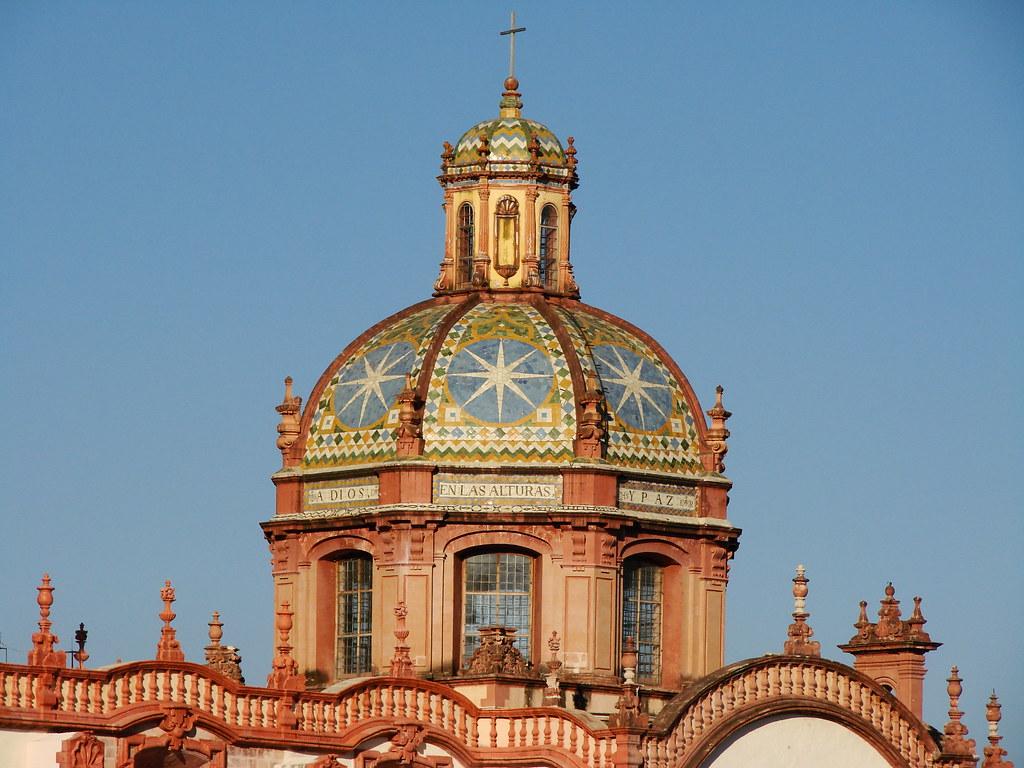 C U00fapula Principal De La Iglesia De Santa Prisca