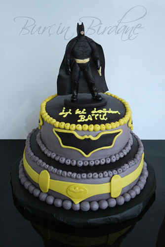 3d batman cake