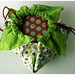 LaFujiMama Bento Bag - Pear Pops Fabric