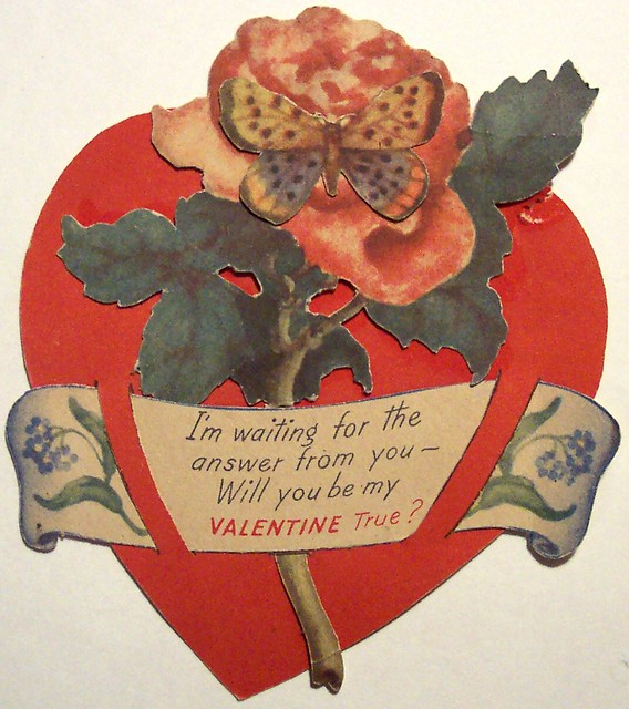 a picture of valentine day - Vintage Valentine s Day Card Dave