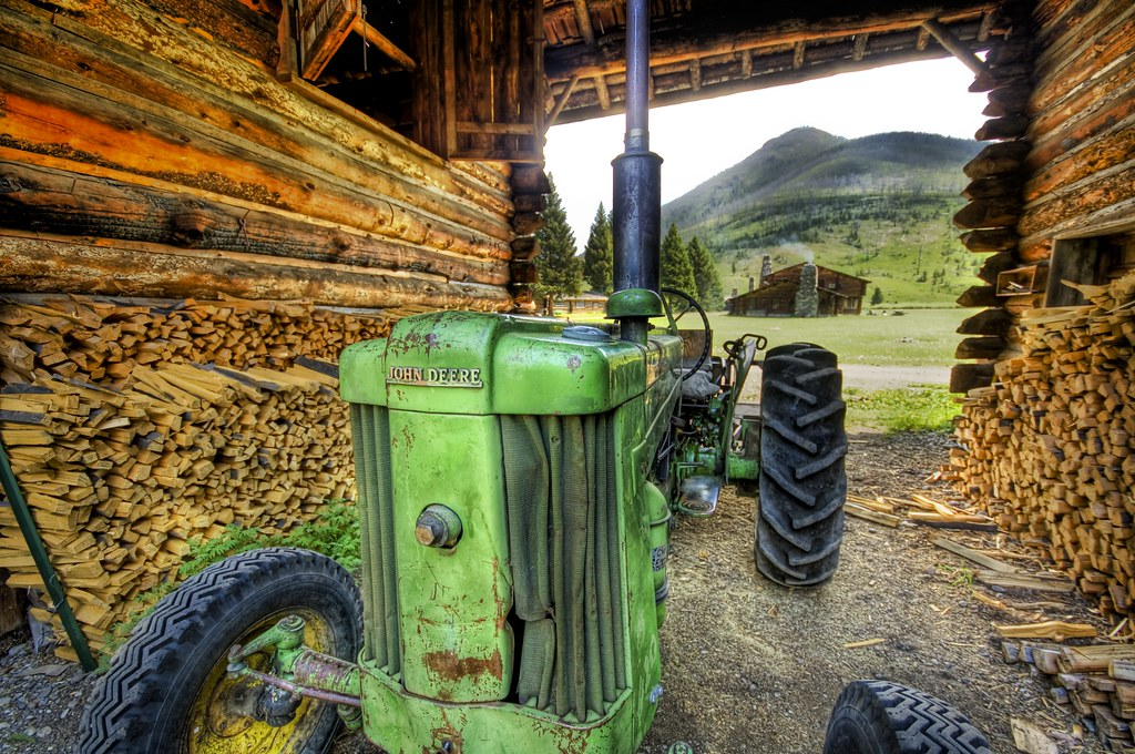 These Old Tractors Are Always