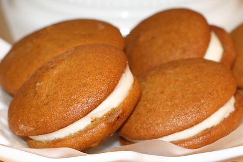Pumpkin Whoopie Pies Using Spice Cake Mix