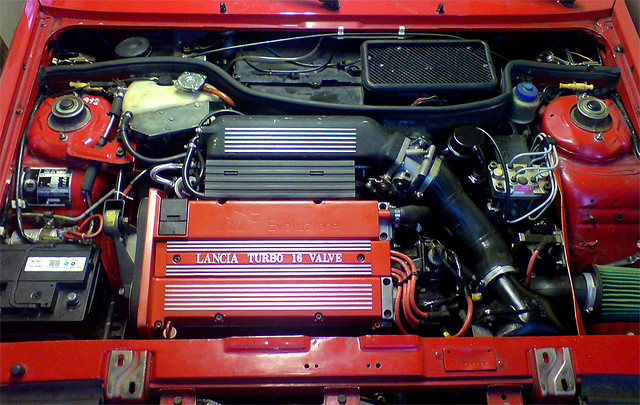 Lancia Delta HF integrale 16v engine bay | Lancia Delta HF ...