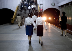 Pyongyang subway North Korea | by Eric Lafforgue