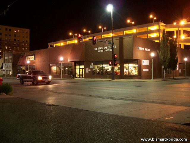 Downtown Bismarck North Dakota At Night Nightview of down Flickr