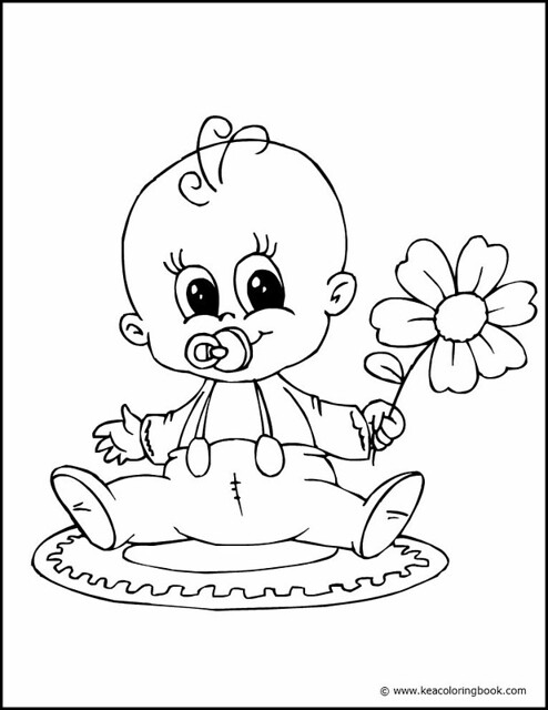 baby moshling coloring pages - photo#19