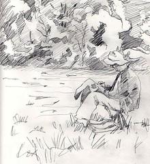 Artist in the Field by artbwf