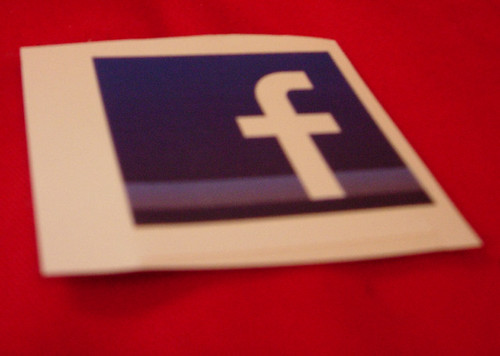 Facebook Logo sticker | by jaycameron