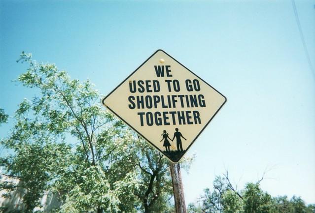 Amarillo - Yard Street Signs - Shoplifting Together | Flickr