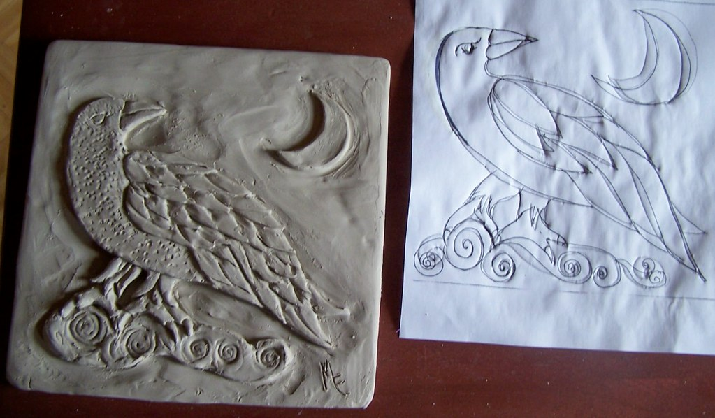 Raven View Design Clay Tile Margarete Handy Flickr
