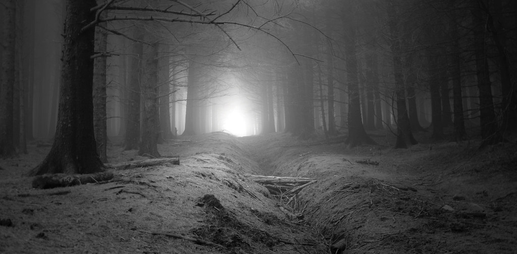 Light Through The Fog On Beacon Fell Simon Flickr