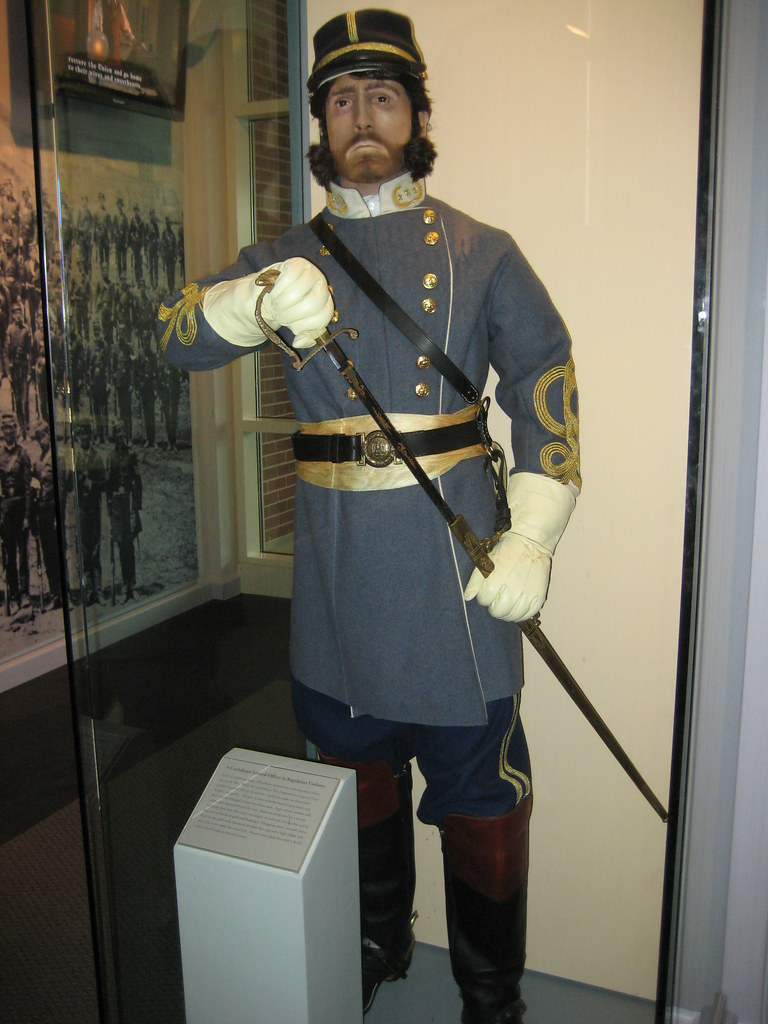 Confederate Officer S Uniform Double Breasted Gray Frock