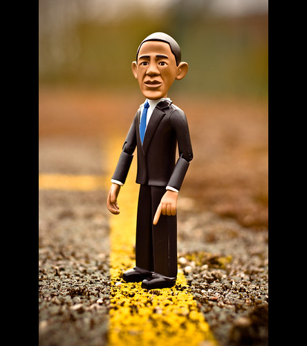 US President Barack Obama Says He's On The Road To Recovery... | by ©Komatoes