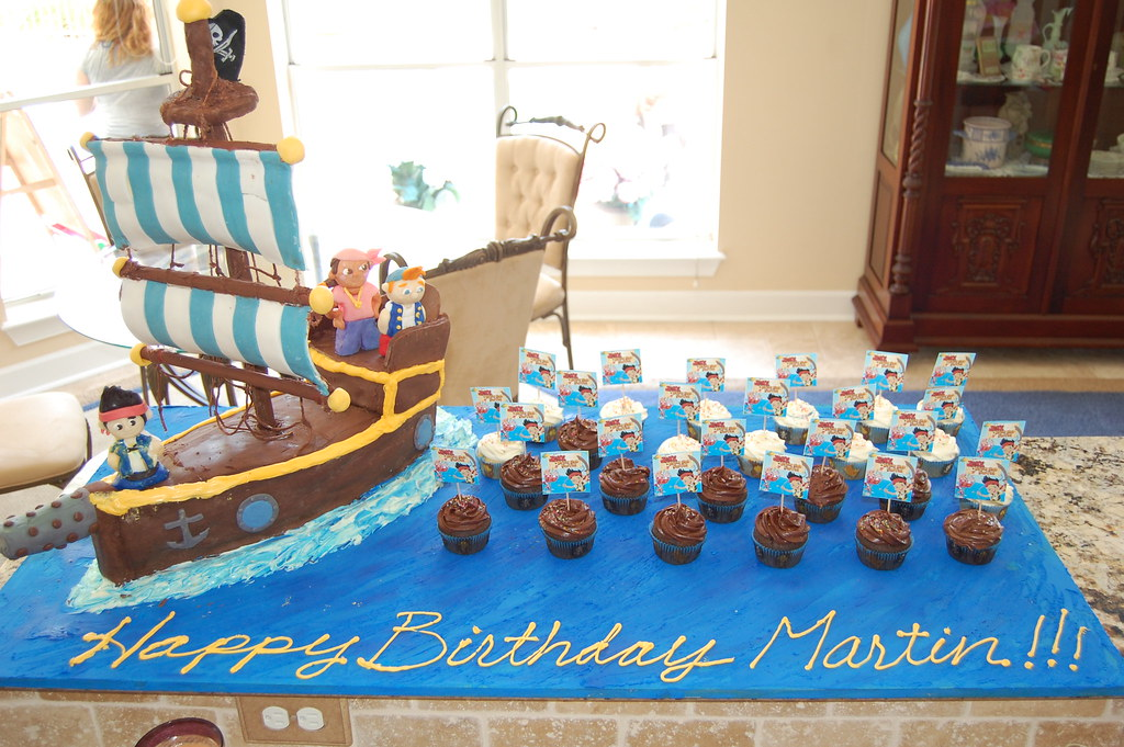 Jack N The Neverland Pirates Birthday Cake