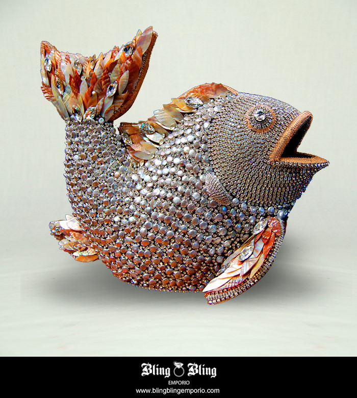 Swarovski crystal home decor fish swarovski crystal Crystal home decor