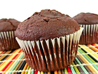 Double Chocolate Muffins | by CinnamonKitchn